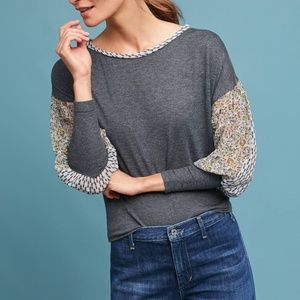 Anthropologie by Tiny Raye Printed Top